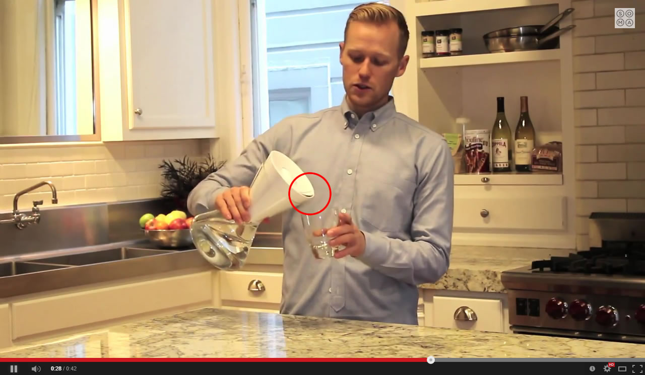 Soma Water Filter Review - Soma doesn't pour properly